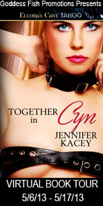 UPCOMING BLOG TOUR - TOGETHER IN CYN - JENNIFER KACEY